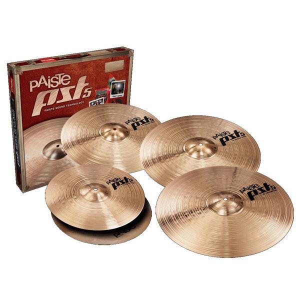 Cymbalpakke Paiste PST 5 Rock Sett 14-18-20 + 16