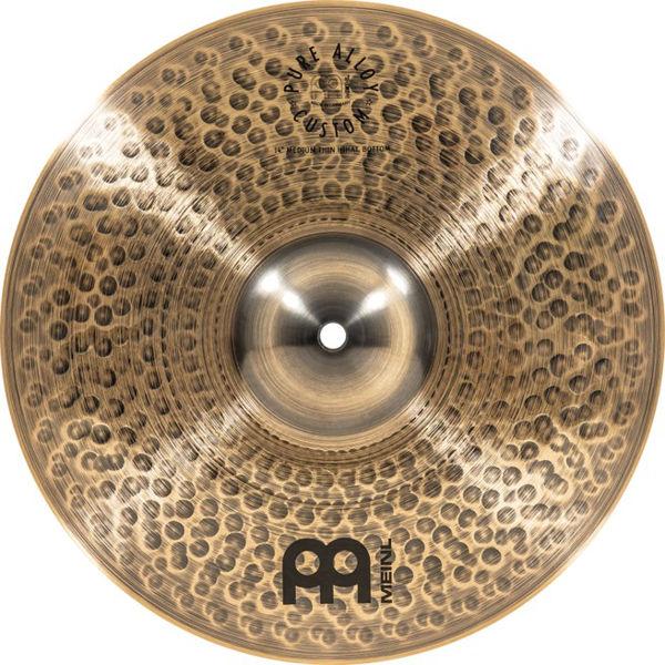 Hi-Hat Meinl Pure Alloy Custom, Medium Thin 14