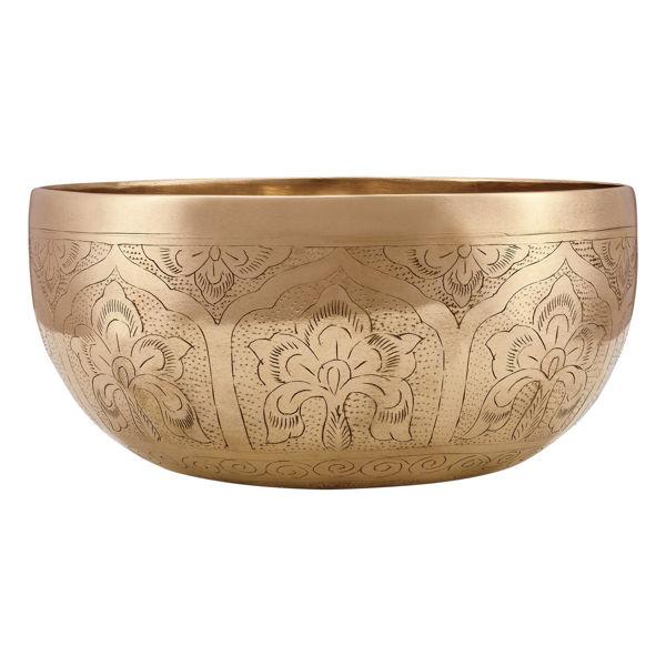 Singing Bowl Meinl SB-SE-1000, Special Engraved Tempelklokke, 20,5 - 21,5cm