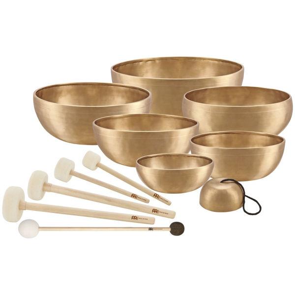 Singing Bowl Set Meinl SB-SET-CHA, Chakra Tempelklokker, 7 pc