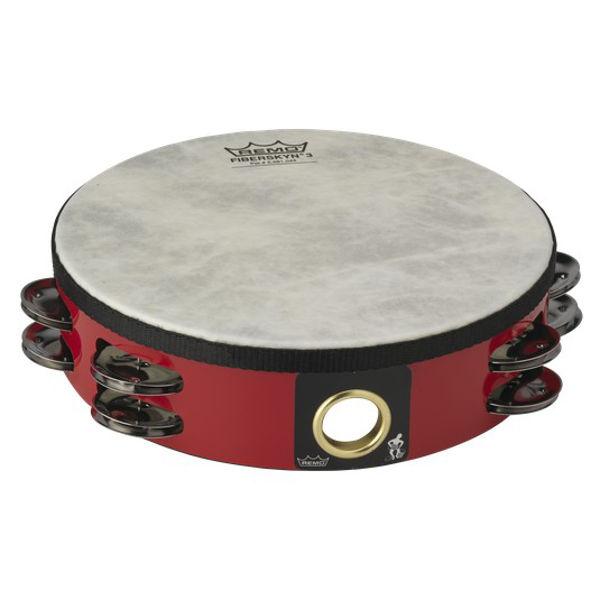 Tamburin Remo TA-5208-52 Dobbel m/Skinn  8