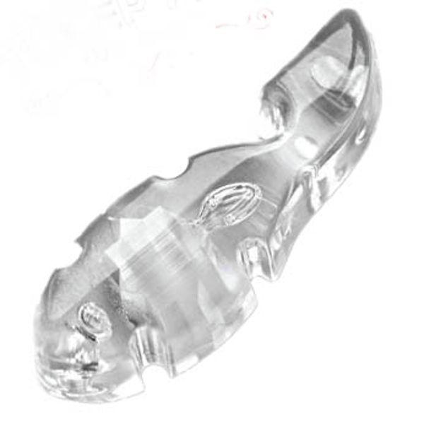 Lug Lock Tuner Fish Clear, 4 Pk