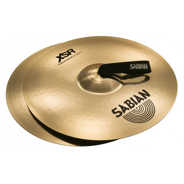 Konsertcymbal Sabian XSR, Concert Band 14, Brilliant, 2,4kg