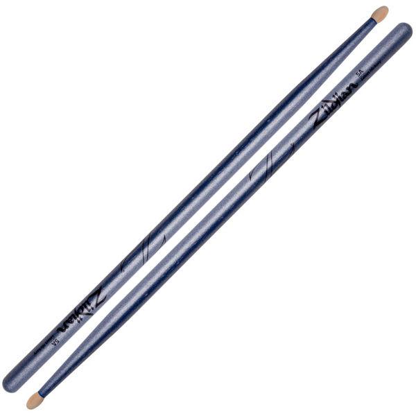 Trommestikker Zildjian Chroma Blue Z5ACBU, Hickory, Wood Tip