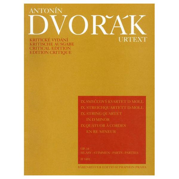 Dvorak: String Quartet in D minor Op. 34