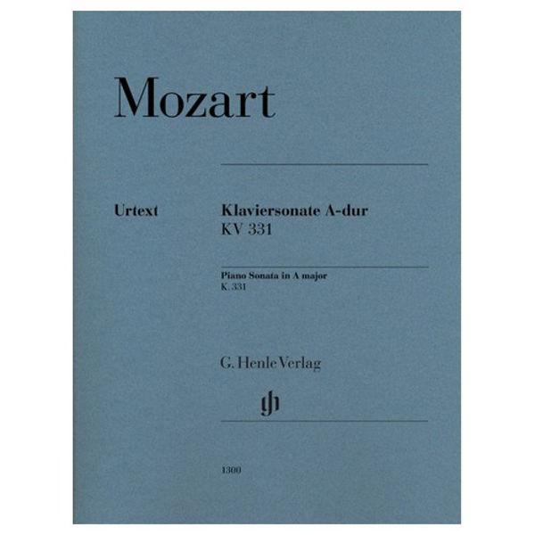 Piano Sonata A major K. 331 (300i)  (with Alla Turca), Wolfgang Amadeus Mozart - Piano solo