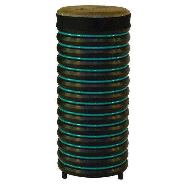 Pedagogtromme Trommus B3, 52x22cm, Turquoise, 1,5kg, w/Adjustable Natural Skin