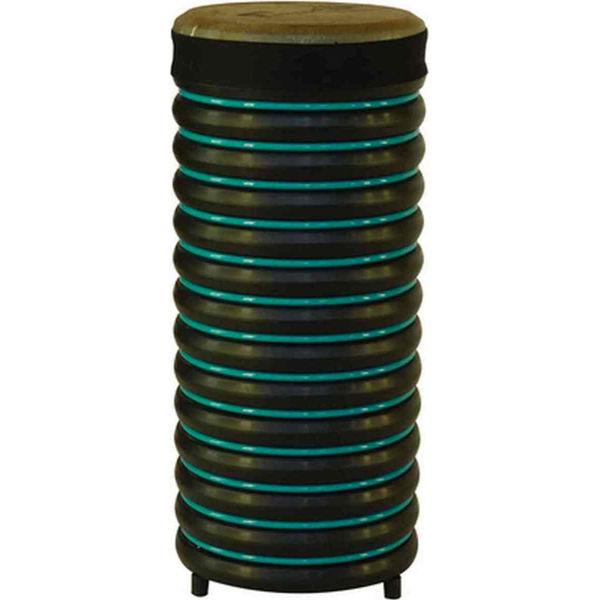 Pedagogtromme Trommus B3u, 52x22cm, Turquoise, 1,4kg, w/Natural Skin