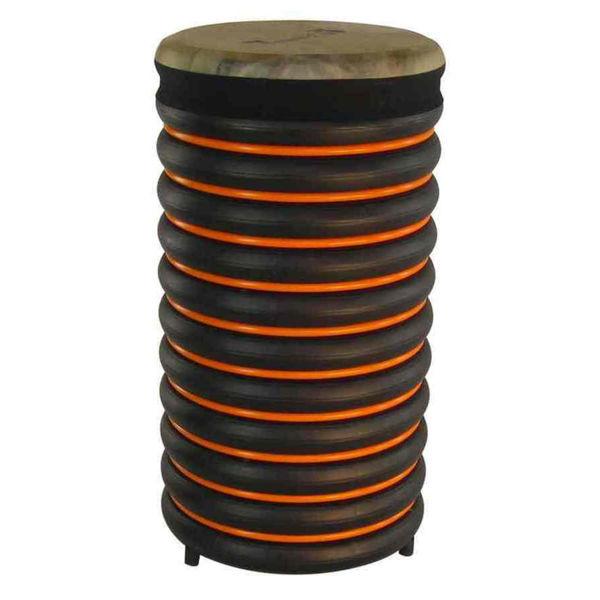 Pedagogtromme Trommus C3, 54x28cm, Orange, 2,5kg, w/Adjustable Natural Skin