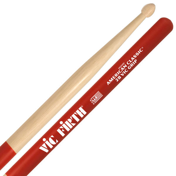 Trommestikker Vic Firth Am. Classic 2BVG Hickory