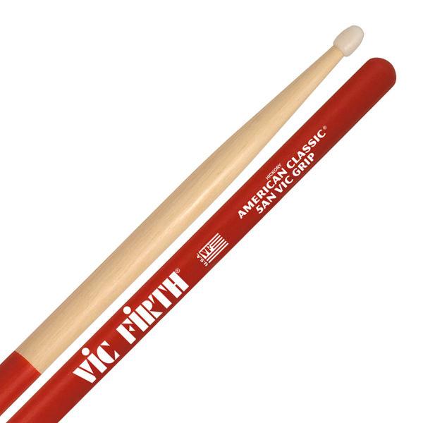 Trommestikker Vic Firth Am. Classic 5ANVG Hickory, Nylon Tip