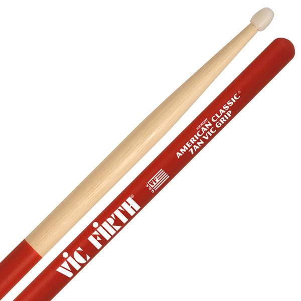 Trommestikker Vic Firth Am. Classic 7ANVG Hickory, Nylon Tip