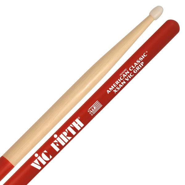 Trommestikker Vic Firth Am. Classic X5ANVG, Vic Grip, Hickory, Nylon Tip