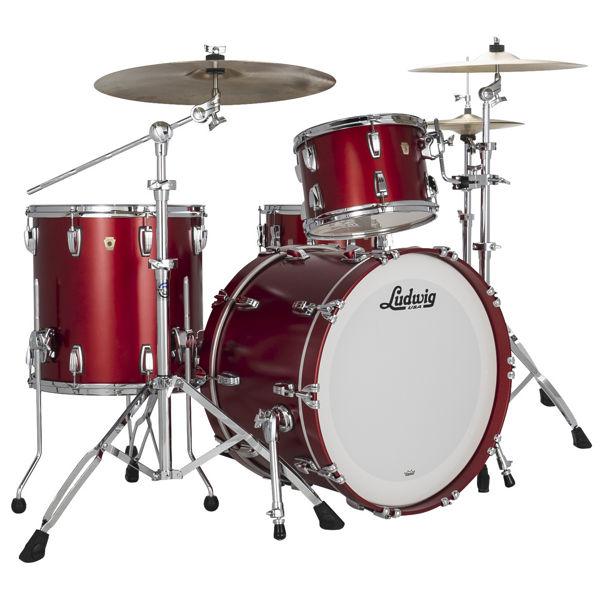 Slagverk Ludwig Classic Maple Fab 22, Diablo Red