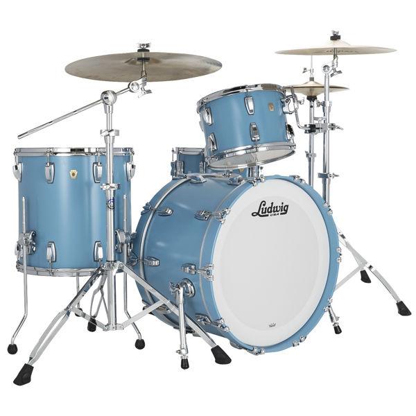 Slagverk Ludwig Classic Maple Fab 22, Heritage Blue