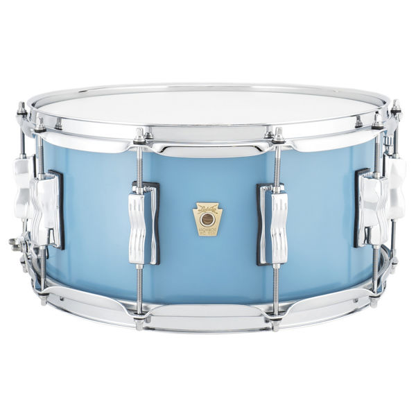 Skarptromme Ludwig Classic Maple LS403XXHB, 14x6,5, 10 Lug, Heritage Blue