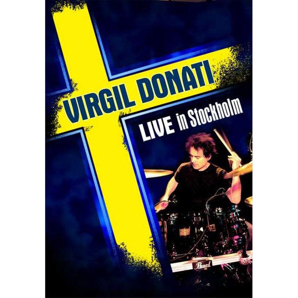 DVD Virgil Donati Live In Stockholm