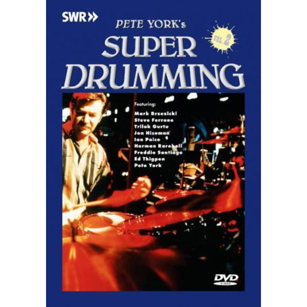 DVD Pete Yorks Super Drumming Vol. 2