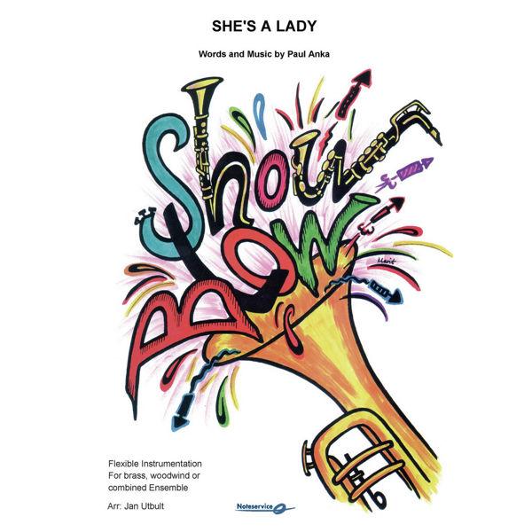 She's a Lady - Flex 5 ShowBlow Grade 2 Anka/ Utbult