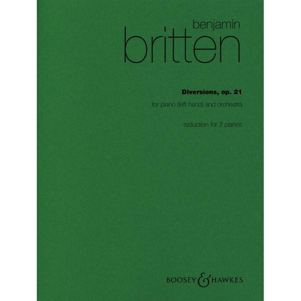 Diversions, op. 21, Benjamin Britten - Piano