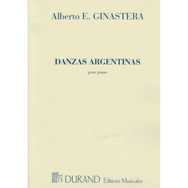 Danzas Argentinas, Alberto Ginastera. Piano