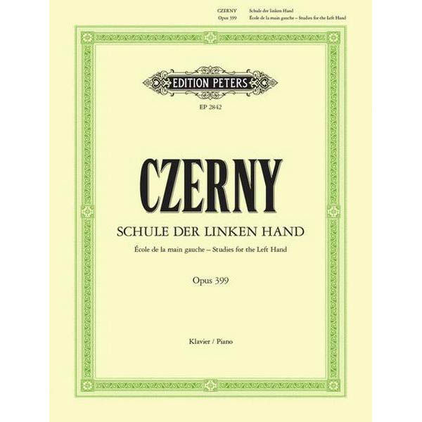 10 Studies for the Left Hand Op.399 , Carl Czerny - Piano Solo