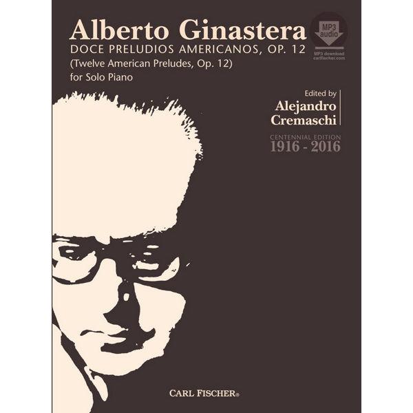 12 American preludes, Ginastera - Piano