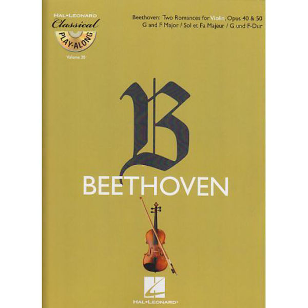 Beethoven for Fiolin m/cd