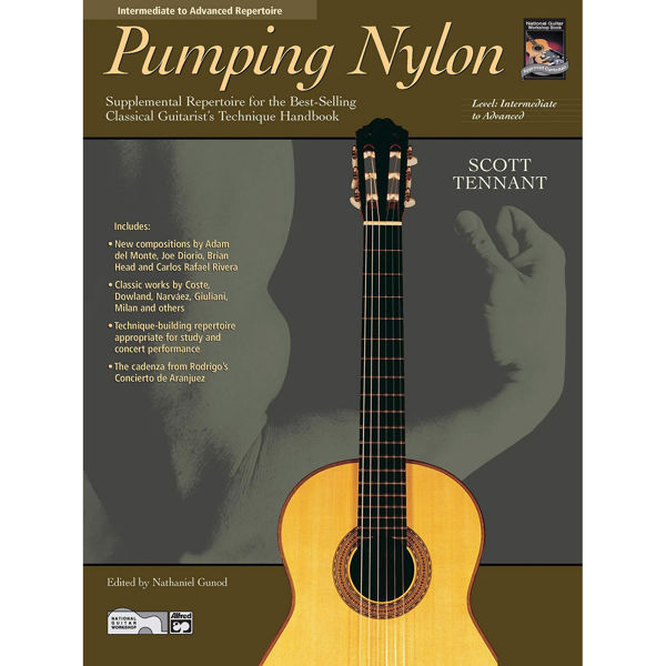 Pumping nylon: Intermediate to Advanced Repertoire Book/CD