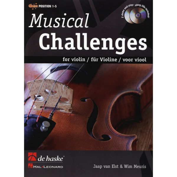 Musical Challenges for Violin m/cd