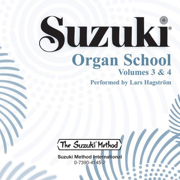 Suzuki Organ School vol 3 & 4 CD