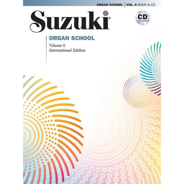 Suzuki Organ School vol 6 Book