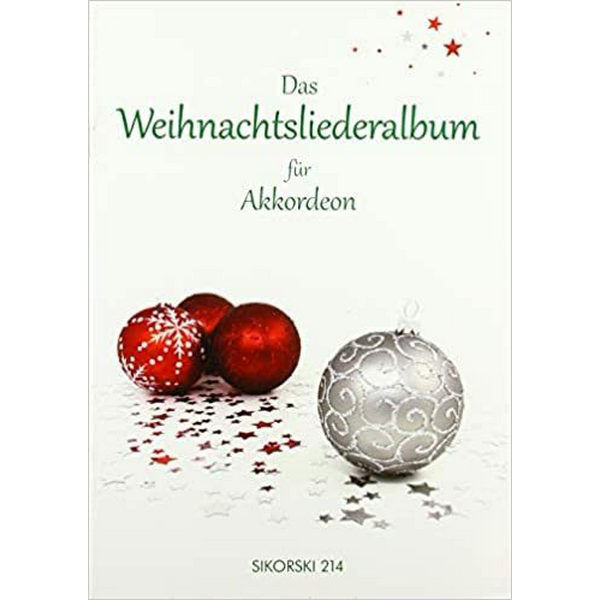 Das Weinachtsliederalbum for Accordion arr Reiny Roland