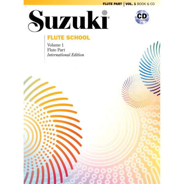 Suzuki Flute School vol 1 Book