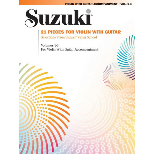 21 Pieces for Violin and Guitar, Suzuki