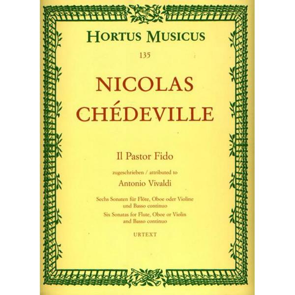 Six Sonatas - Nicholas Chèdeville. Six Sonatas for FLute, Oboe or Violin and Basso continuo