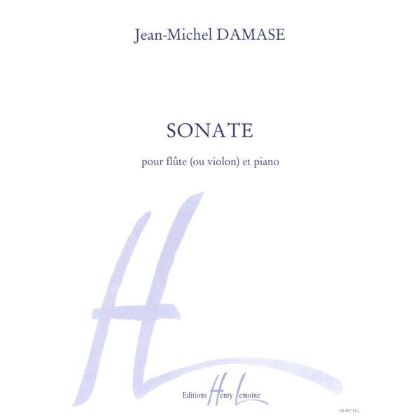 Sonate pour Flute et Piano - Jean-Michel Damase