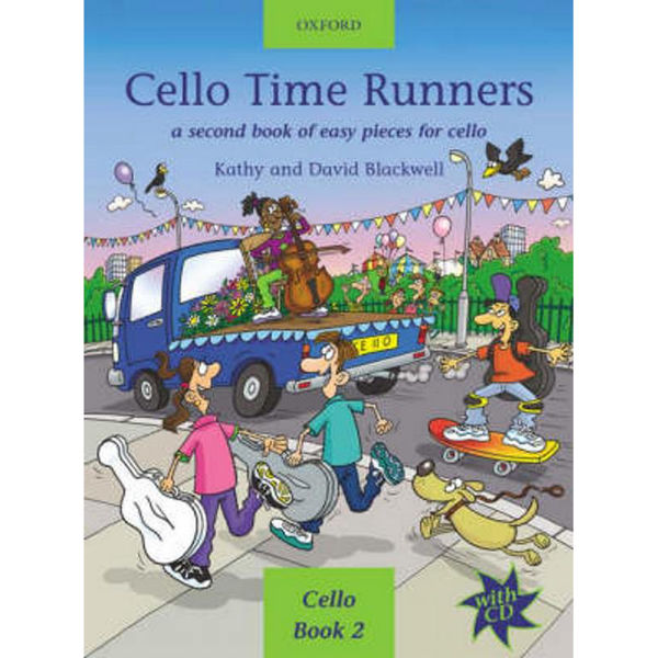 Cello Time Runners + CD, Blackwell