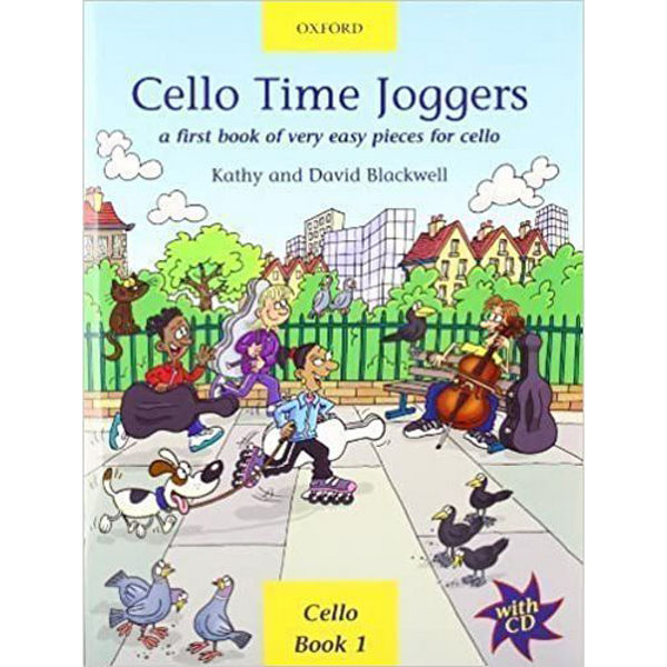 Cello Time Joggers + CD,  Blackwell