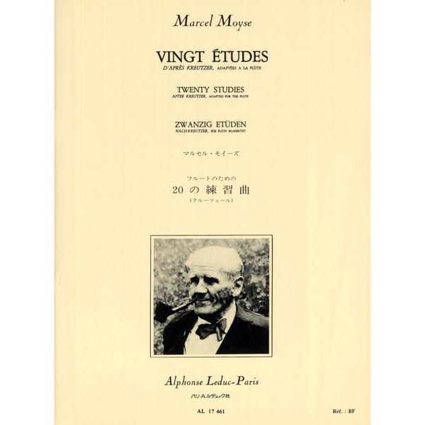 20 Studies for Flute / Vingt Etudes - Marcel Moyse