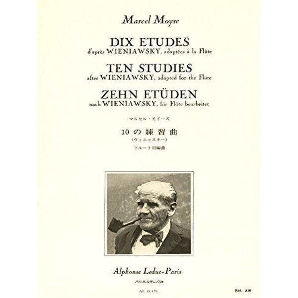 Ten studies adapted for flute - Marcel Moyse