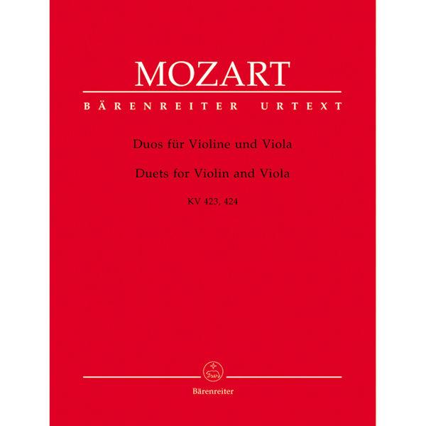 Duets for Violin and Viola K. 423,424, Wolfgang Amadeus Mozart