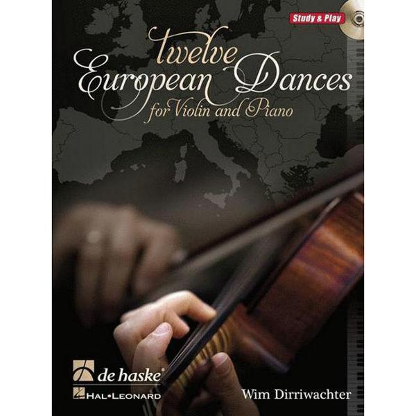 Twelve European Dances for Violin and Piano