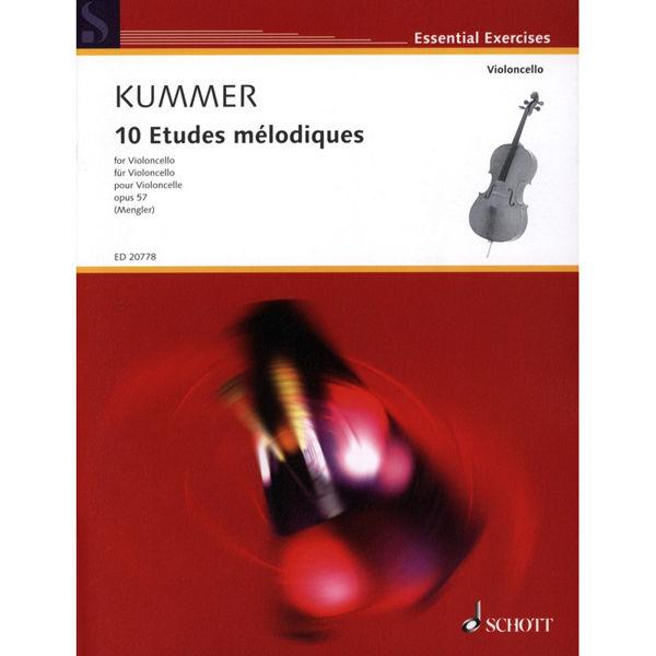 10 etudes melodiques for Cello - Kummer