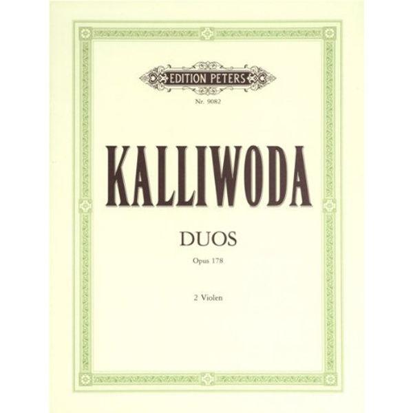 3 Easy Violin/Viola Duets, Op.178, Johann Wenzel Kalliwoda