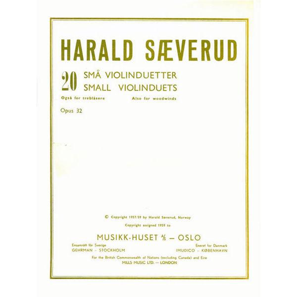 20 Små Fiolinduetter, Harald Sæverud - 2 Fioliner