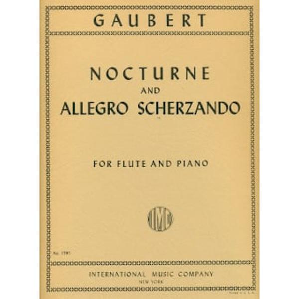 Nocturne and Allergro Scherzando for Flute and Piano