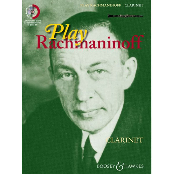 Play Rachmaninoff - for Flute m/cd
