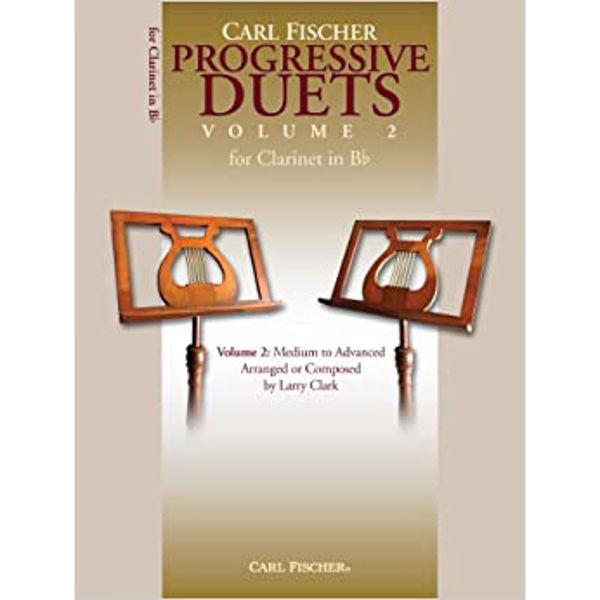 Carl Fisher: Progressive Duets for Clarinet in Bb, vol. 2