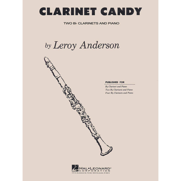 Clarinet Candy, Leroy Anderson- Klarinettduett